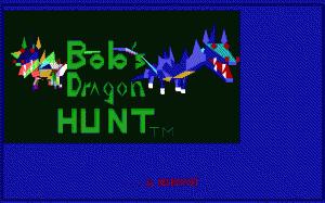 Bob's Dragon Hunt per PC MS-DOS