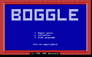 Boggle per PC MS-DOS