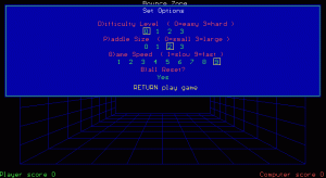 Bounce Zone per PC MS-DOS