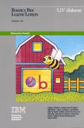Bouncy Bee Learns Letters per PC MS-DOS