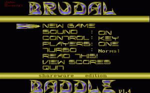 Brudal Baddle per PC MS-DOS