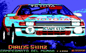 Carlos Sainz per PC MS-DOS