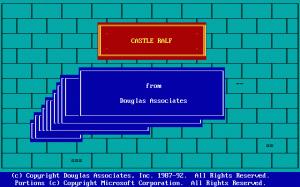Castle Ralf per PC MS-DOS