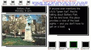 Catch Simona in New York City per PC MS-DOS
