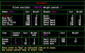 Cavequest per PC MS-DOS