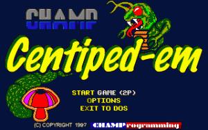 CHAMP Centiped-em per PC MS-DOS