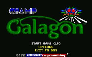 CHAMP Galagon per PC MS-DOS
