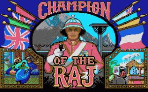 Champion of the Raj per PC MS-DOS