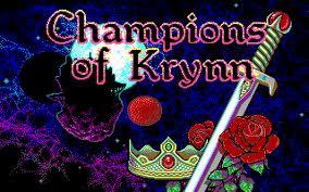 Champions of Krynn per PC MS-DOS