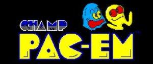 CHAMP Pac-em per PC MS-DOS