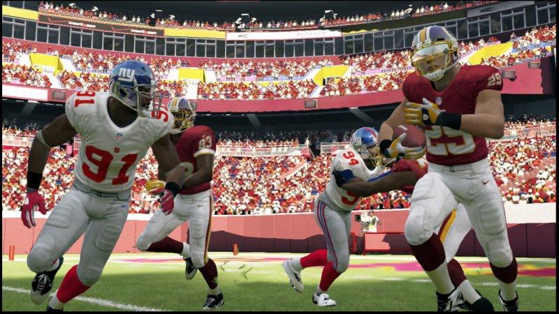 La soluzione di Madden NFL 13