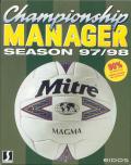 Championship Manager 97/98 per PC MS-DOS