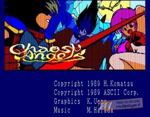 Chaos Angels per PC MS-DOS