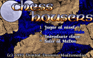 Chess Housers per PC MS-DOS