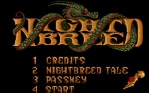 Clive Barker's Nightbreed: The Action Game per PC MS-DOS