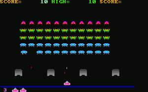 Clone Invader per PC MS-DOS