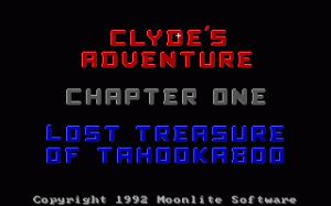 Clyde's Adventure per PC MS-DOS