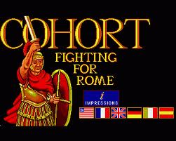 Cohort: Fighting For Rome per PC MS-DOS