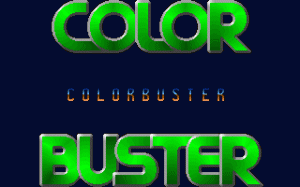 Color Buster per PC MS-DOS