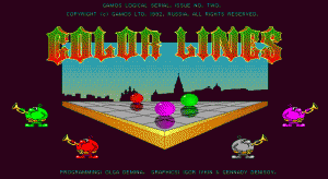 Color Lines per PC MS-DOS