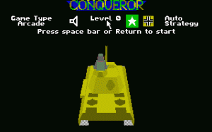Conqueror per PC MS-DOS