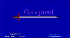 Conquest per PC MS-DOS