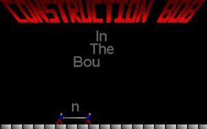 Construction Bob per PC MS-DOS
