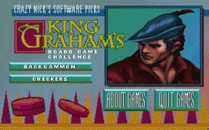 Crazy Nick's Picks: King Graham's Board Game Challenge per PC MS-DOS