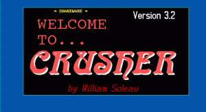 Crusher per PC MS-DOS