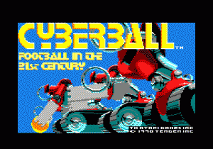 Cyberball per PC MS-DOS