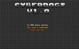 Cyberdogs per PC MS-DOS