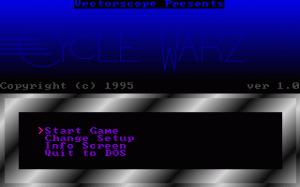 Cycle Warz per PC MS-DOS