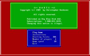 Darts per PC MS-DOS