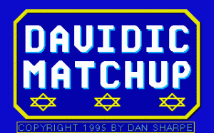 Davidic Matchup per PC MS-DOS