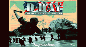 D-Day: The Beginning of the End per PC MS-DOS