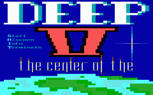 Deep II: The Center of the Earth per PC MS-DOS