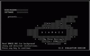 Diamaze per PC MS-DOS