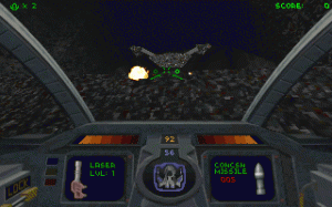 Dimensions for Descent per PC MS-DOS