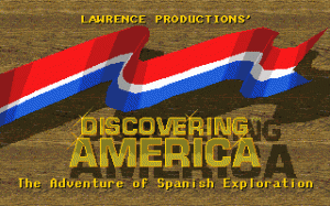 Discovering America per PC MS-DOS