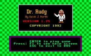 Dr. Rudy per PC MS-DOS
