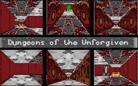 Dungeons of the Unforgiven per PC MS-DOS
