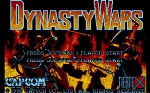 Dynasty Wars per PC MS-DOS