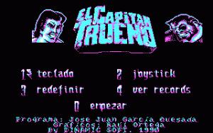 El Capitán Trueno per PC MS-DOS