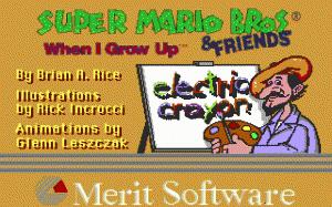 Electric Crayon 3.1: Super Mario Bros & Friends: When I Grow Up per PC MS-DOS