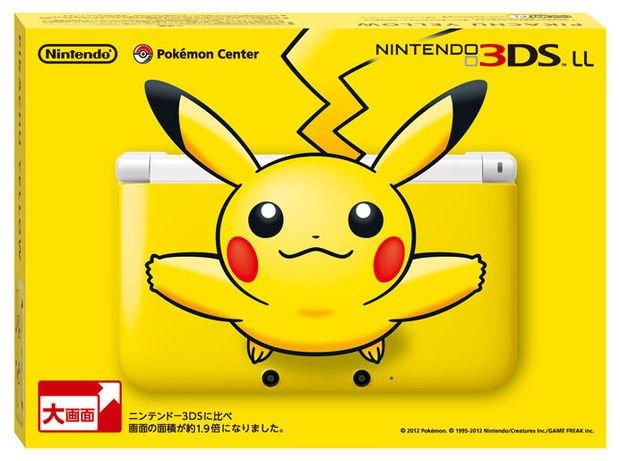 In Giappone esce un 3DS XL giallo Pikachu