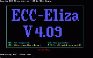 Eliza per PC MS-DOS
