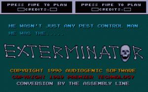 Exterminator per PC MS-DOS