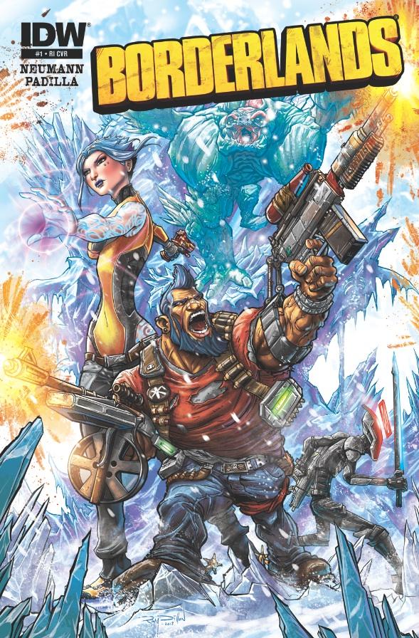 Borderlands - Un fumetto in quattro parti per scoprire le origini