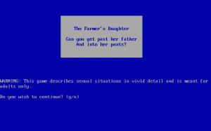 Farmer's Daughter per PC MS-DOS