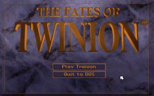 Fates of Twinion per PC MS-DOS